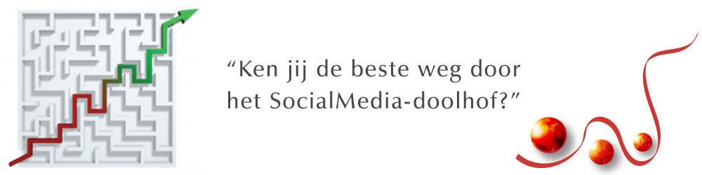 Ken jij de beste weg door het SocialMedia-doolhof?