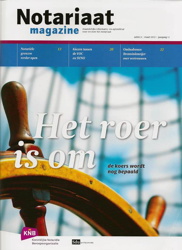 201203 Voorkant Notariaat magazine