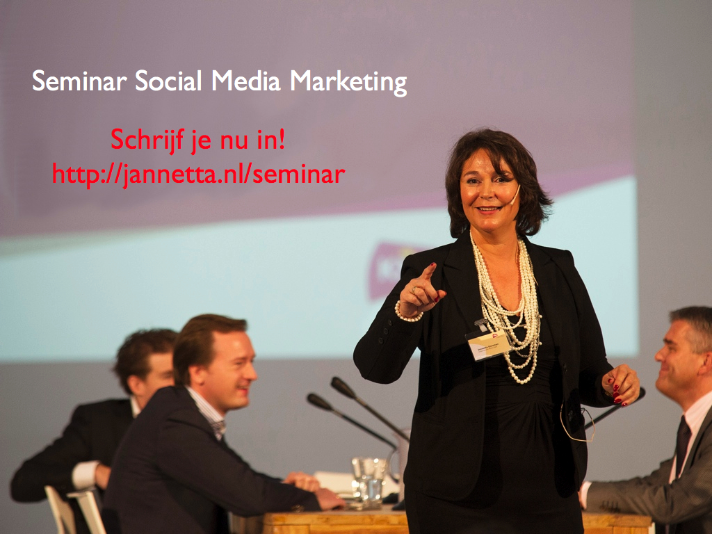 Gratis seminar Social Media Marketing