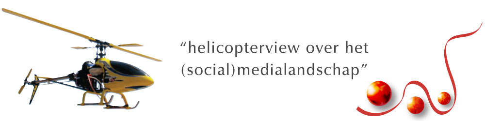 Helicopterview over het (social)medialandschap